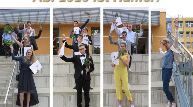 Zeugnisausgabe Abitur 2020
