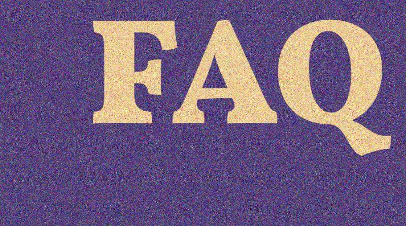 FAQ oder: Wer fragt, gewinnt!