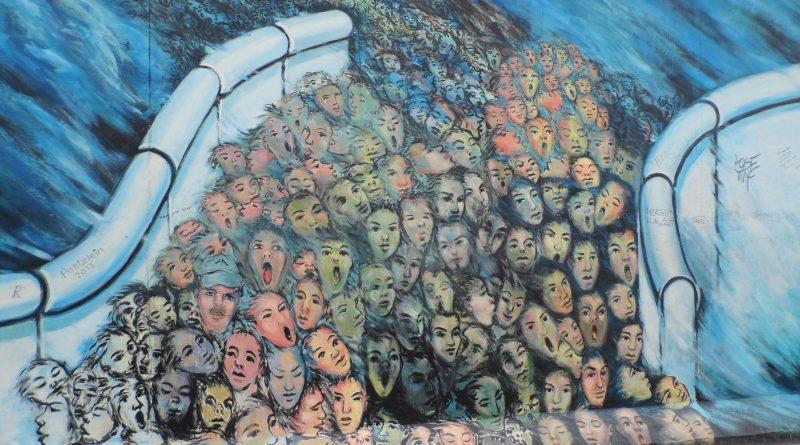 Eröffnung der Mauerfall-Ausstellung am 11.11.