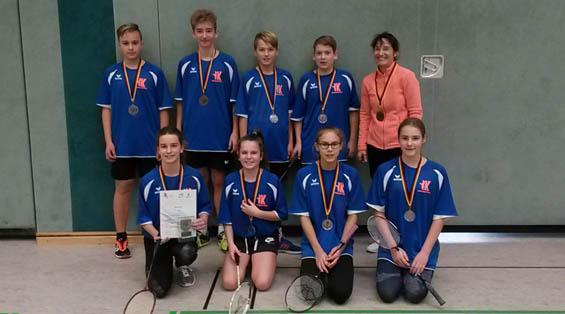 Badminton – Spieler konnten sich testen.