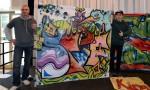 Bazaar Berlin 2015 - Siegerehrung der 3. Street Art und Graffiti-Meisterschaft Berliner Schulen -  Bazaar Berlin 2015 - Awards Ceremony of the 3rd Street Art and Graffiti-Mastership of Berlin Schools -