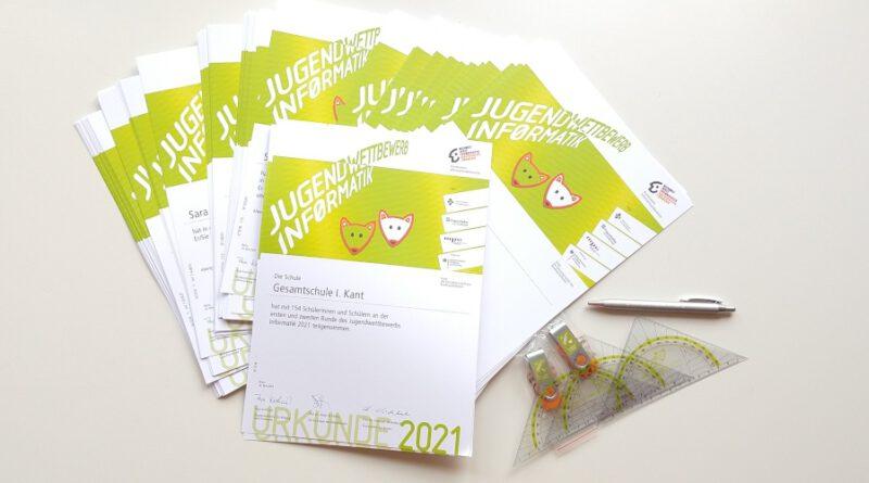 Urkunden des JwInf 2021